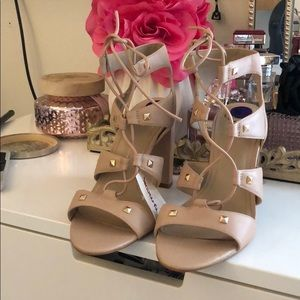 Vince Camuto blush pink heels